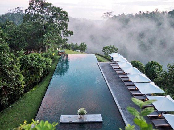 infiniti pool @ AlilaUbudHotelBali via pinterest
