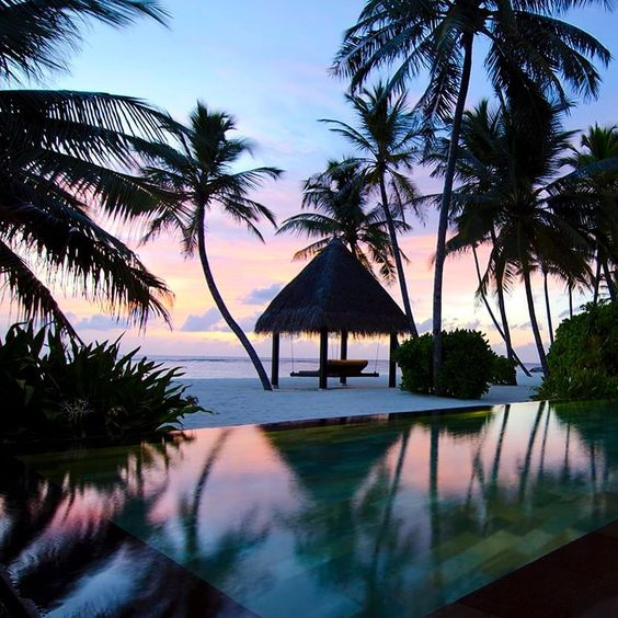 infinity pool @ The One and Only Reethi Rah via pinterest